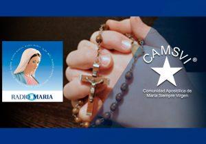 Rosario en Honor a MSV por Radio María